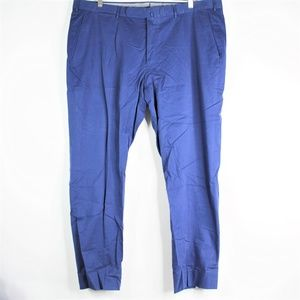 Vintage Ermenegildo Zegna Blue Trousers Dress Pant